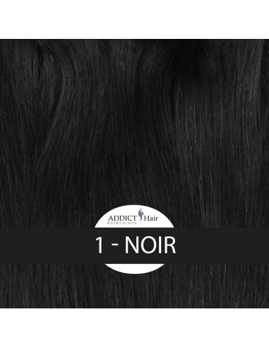 EXTENSIONS à Clips QUADRI-BAND (4 Bandes - Longueur : 50cm) Cheveux 100% Naturels Remy Hair AAA+