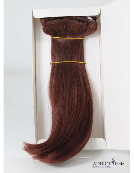 Extensions à Clips - 3 Bandes - Largeur : 32cm/28cm/12cm - Longueur : 29cm - Cheveux 100% Naturels - 100g