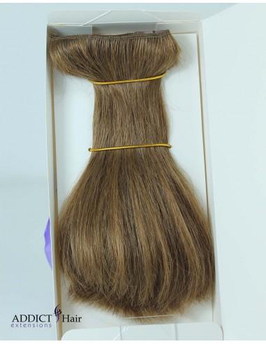 Extensions à Clips EPAISSE - 1 Bande - Largeur : 30cm - Longueur : 20cm - Cheveux 100% Naturels - 45g