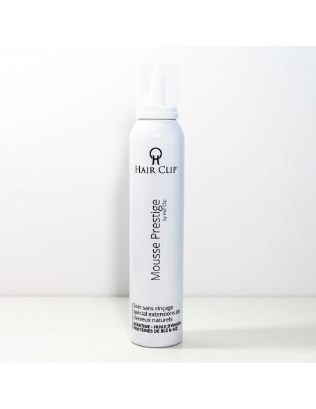 Mousse Volume (sans rinçage) Hair Clip Prestige - Spécial extensions de cheveux naturels 200ml