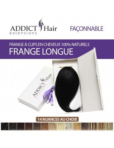 Long Clip-in Fringe - 100% Human Remy...