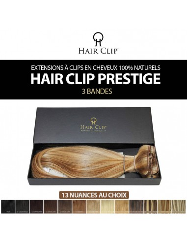 Extension de cheveux à clips HAIR CLIP Prestige 100% naturels remy hair